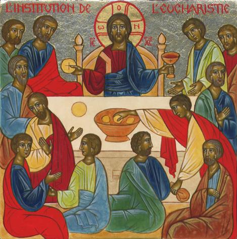 """Résultat de recherche d'images pour """"Icône de l'Eucharistie"""""""
