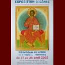 affiche exposition Fribourg 2002. Christ en Gloire