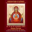 affiche exposition Fribourg 2007. Vierge du Signe